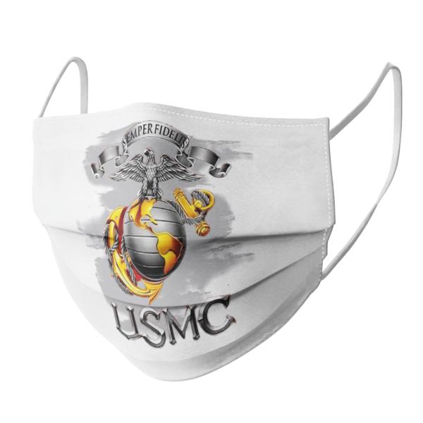 Semper Fidelis Usmc face mask