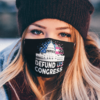 Defund Congress American Flag face mask