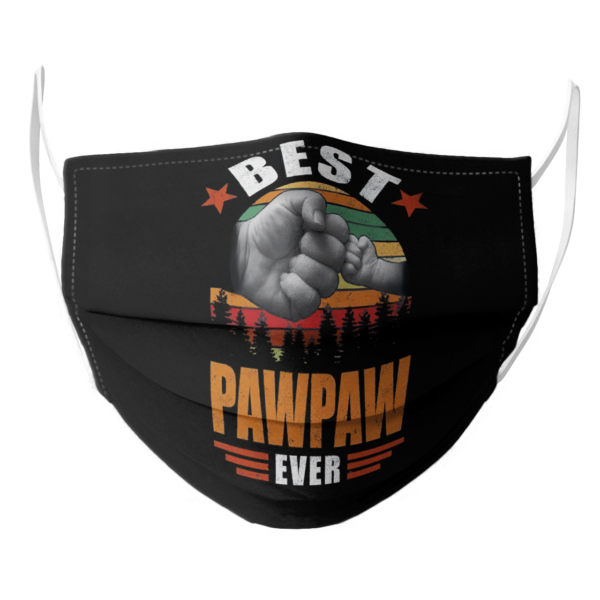 Best Pawpaw Ever Vintage face mask