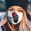 Amanda Gorman But While Democracy Can Be Periodically Delayed face mask