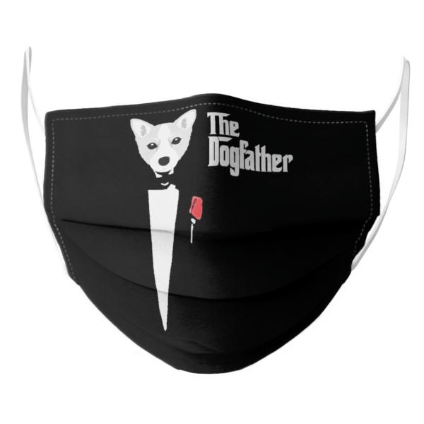 Joe Biden Corgi The Dogfather 2021 face mask
