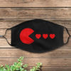 Hearts Happy Valentine Day Face Mask Cover