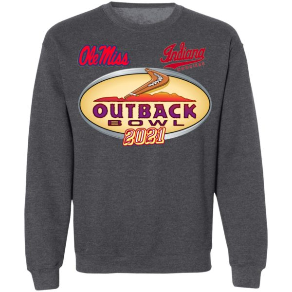 Ole Miss Outback Bowl Champions 2021 Shirt, Ladies Tee