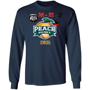 Georgia Peach Bowl 2021 Champions Shirt, Ladies Tee