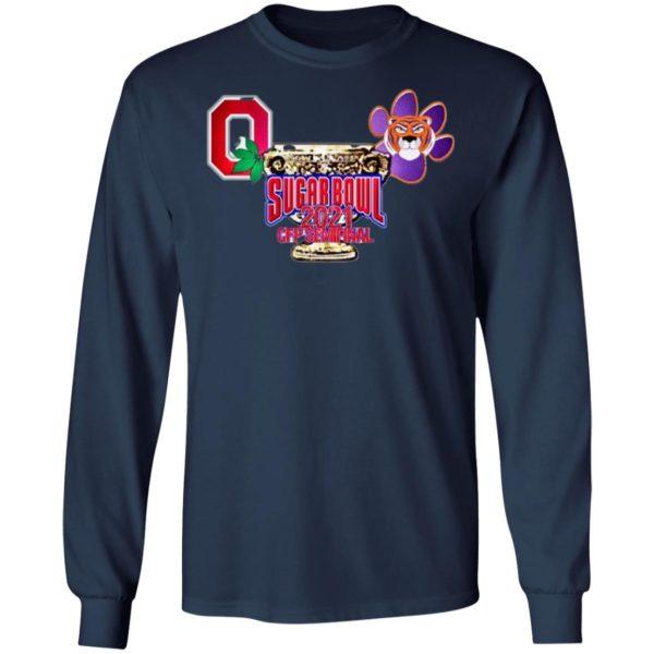 Original Ohio State vs Clemson Sugar Bowl 2020 Minimalist Shirt, Ladies Tee