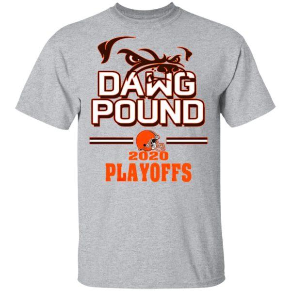 Dawg Pound 2020 Playoffs Cleveland Browns Shirt