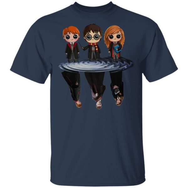 Chibi Harry Poter Character Water Reflection Master Harry Poter Shirt