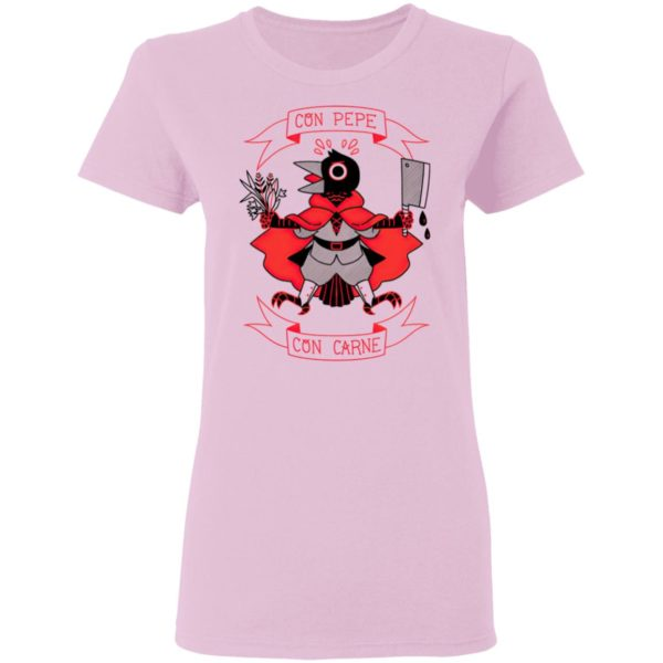 Con Pepe Con Carne Shirt, Ladies Tee