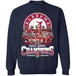 Alabama Crimson Tide 2021 Rose Bowl Champions shirt