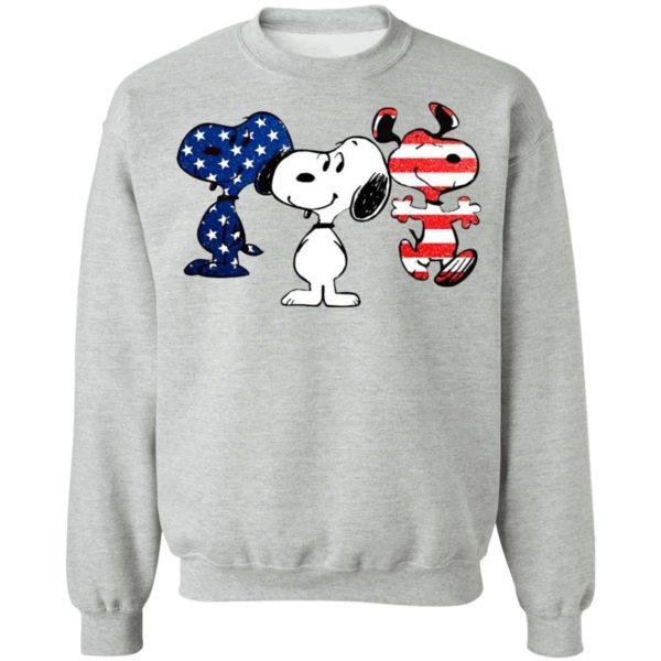 Snoopy American Flag Version Shirt