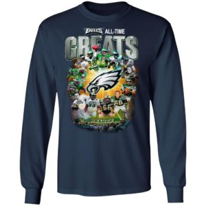 Philadelphia Eagles All Time Greats Signatures Shirt