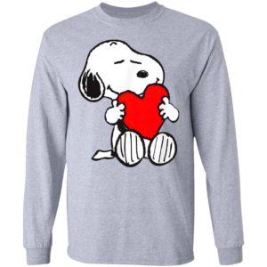 Snoopy Hug Heart Valentine's Day Shirt