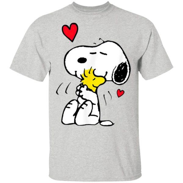 Snoopy Hug Woodstock Valentine's Day Shirt