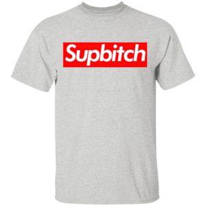Supbitch Parody Logo Shirt, Ladies Tee, Long Sleeve, Hoodie