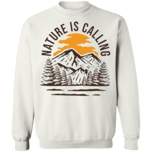 Wanderlust Campground Nature Is Calling Shirt