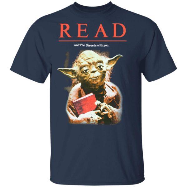 Yoda Star Wars READ T-Shirt, Long Sleeve, Hoodie