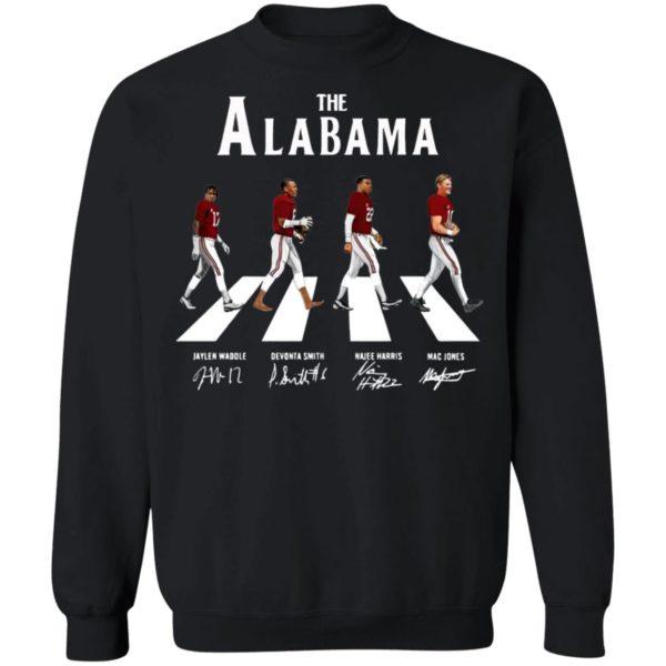 The Alabama Abbey Road Signatures Shirt