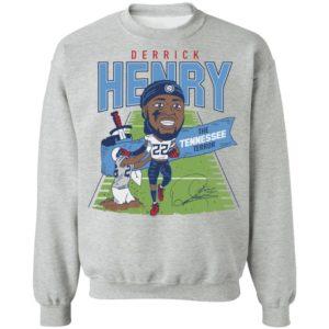 Derrick Henry Caricature Throwback Shirt