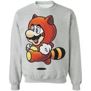 Tanooki Mario Super Mario Bros shirt