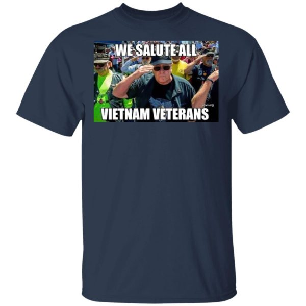 We Salute All Vietnam Veterans Shirt