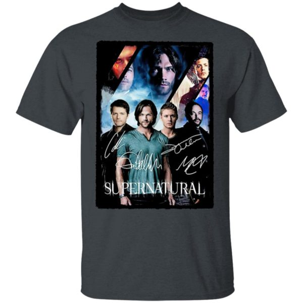 The Supernatural Movie Signature Shirt