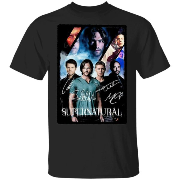 The Supernatural Movie Signature ShirtThe Supernatural Movie Signature Shirt