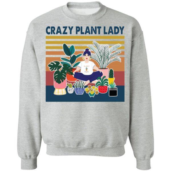 Garden Crazy Plant Lady Vintage Retro shirt