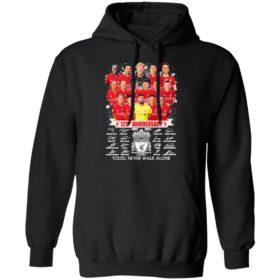 129Th Anniversary 1892 2021 Liverpool Football Club You'Ll Never Walk Alone Shirt