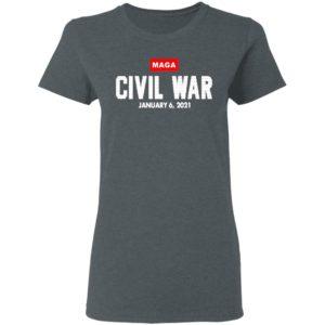 Maga Civil War shirt, Long Sleeve, Hoodie
