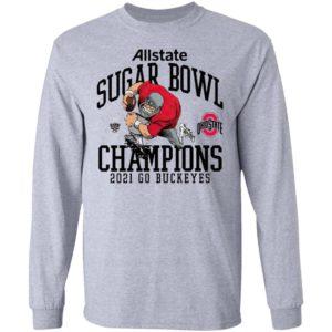 Ohio State Buckeyes Allstate Sugar Bowl Champions 2021 Go Buckeyes Shirt