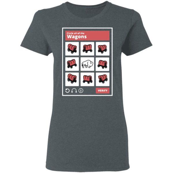 Circle All Of The Wagons Shirt