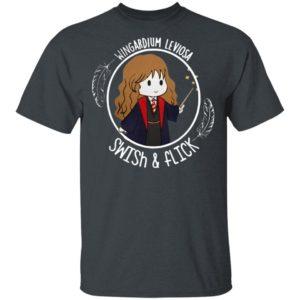 Hermione Wingardium Leviosa Swish and Flick shirt