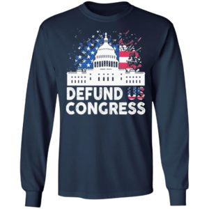 Defund Congress American Flag Shirt