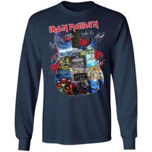 Iron Maiden Guitarist Signatures Shirt