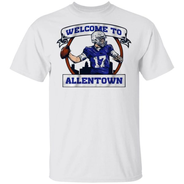Josh Allen Welcome to Allentown shirt