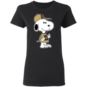 Snoopy Los Angeles FC MLS Double Middle Fingers Fck You Shirt