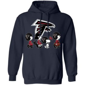 The Peanuts Snoopy And Friends Cheer For The Atlanta Falcons NFL Shirt