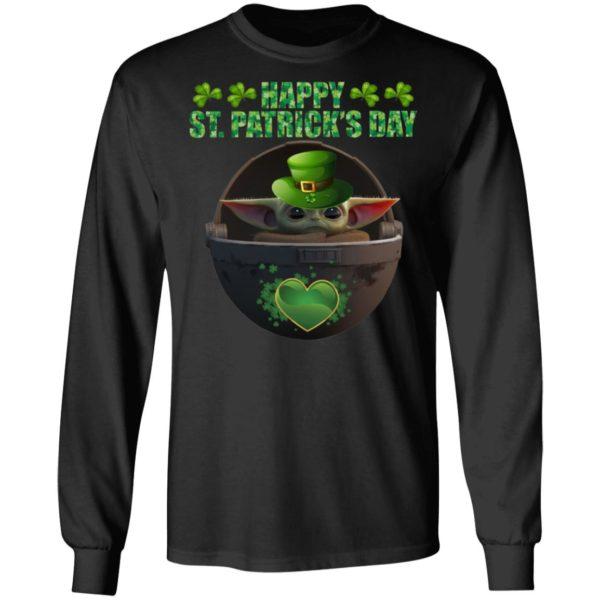 Happy St Patrick's Day Baby Yoda The Child Shirt