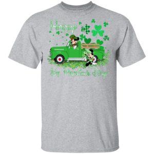 Irish Minnie Mickey Happy St. Patrick's Day Shirt