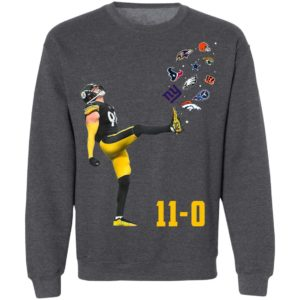 Pittsburgh Steelers Vince Williams 11-0 New York Giants Dallas Cows Boys shirt