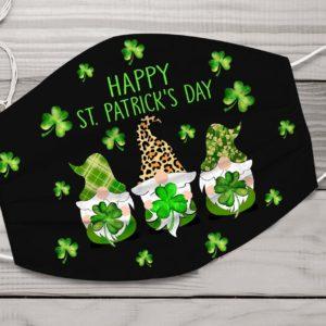 Happy ST Patrick day face mask