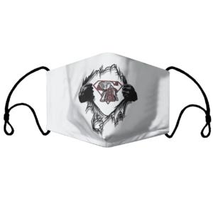Alabama Crimson Tide Insides Me Superman Face Mask