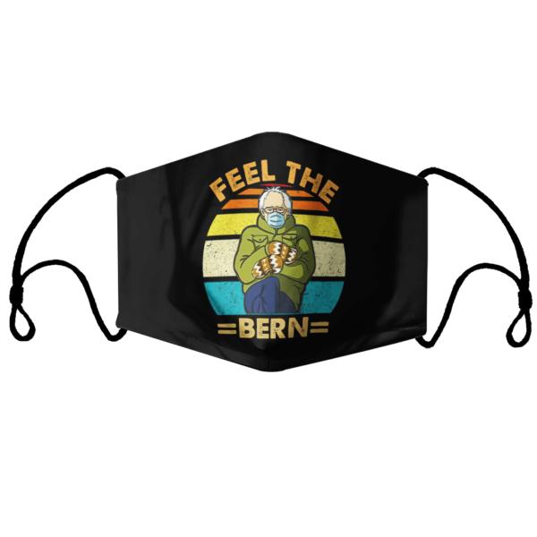 Feel The Bern Vintage Face Mask