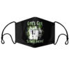 Lets Get Schitt Faced Happy St Patrick Day Face mask