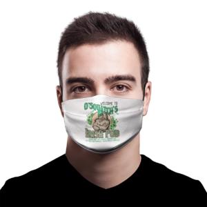 O'Squatch's Slainte Irish Pub Bigfoot Face mask