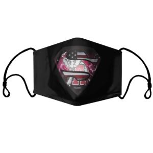 Superman Alabama Crimson Tide Face Mask