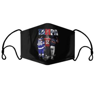 Tampa Tampa Bay Lightning Tampa Bay Buccaneers Tampa Bay Rays Nikita Kucherov Tom Brady Randy Arozarena signatures Face Mask