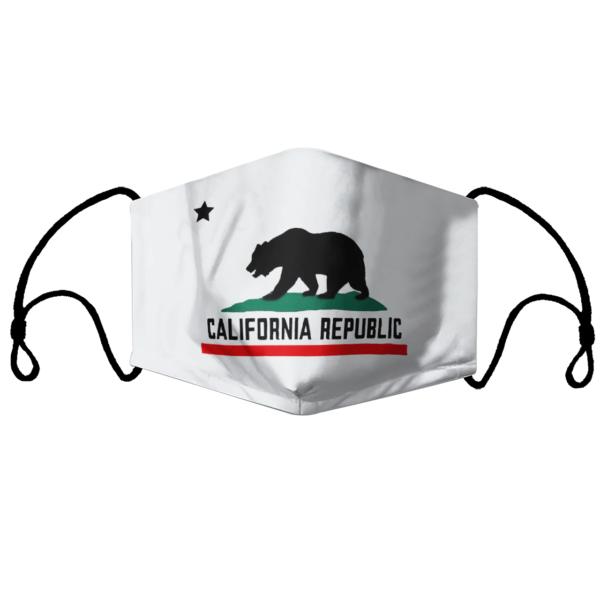 Ursus Americanus Of California Republic Face Mask