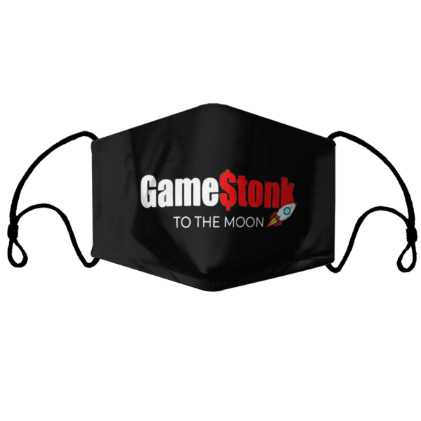 Gamestonk To The Moon face mask