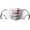 Im A Disney Aunt Its Like A Regular Aunt But More Magical Disney Minnie face mask